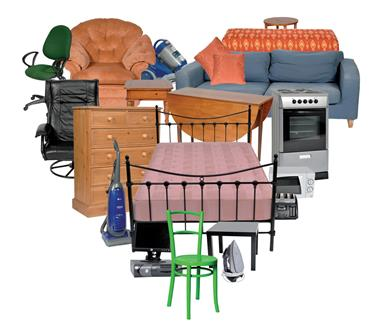 Furniture And Other Household Items Can Often Be Reused In Their Current  State So Don`t Even Need To Be Recycled Or Sent To Landfill Sites.